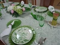 フラワーアレンジ&テーブルコーディネート 2014/06/26 14:00:00