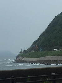 日南海岸「がけ崩れ」