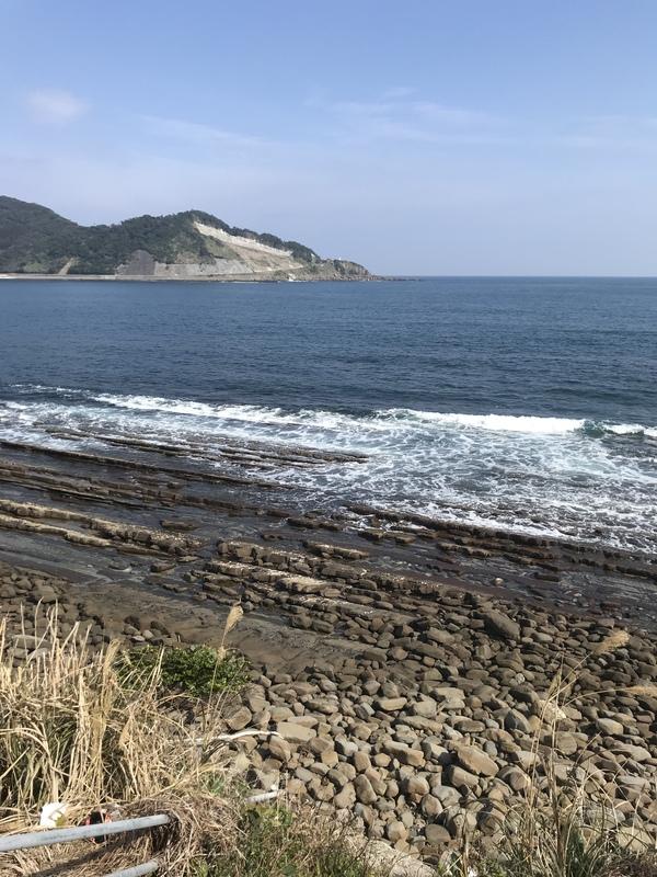 無風快晴の日南海岸