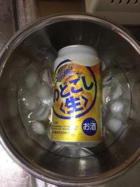 「冷えてない缶ビール」を美味しく飲むには