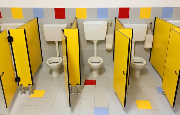 日本のトイレはきれい