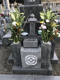 今年最後の「墓掃除」