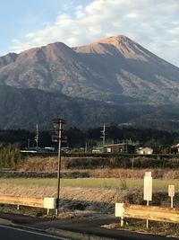 早朝の「高千穂峰」