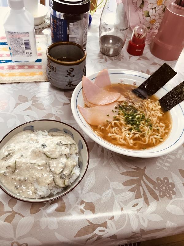 冷凍カツ丼&ラーメン