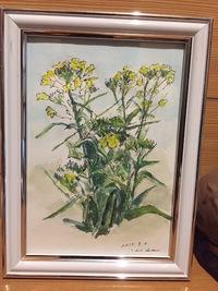 絵画「菜の花」
