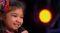 9才の少女「歌声がスゴイ!」