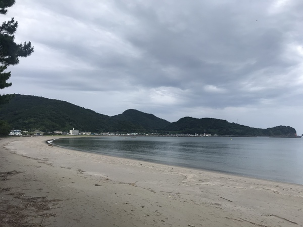 大堂津の海岸