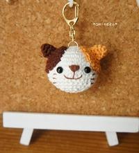amineko製♡三毛猫キーホルダー