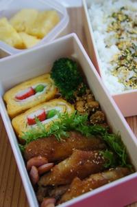 お弁当づくり奮闘中(≧▽≦)
