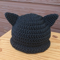 ねこ耳帽子♡黒猫さん