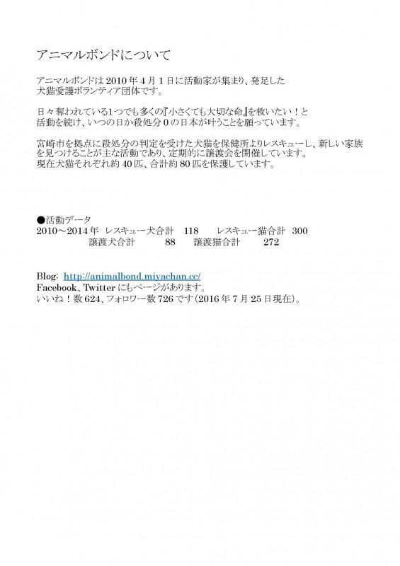 2017チャリティカレンダー制作決定!