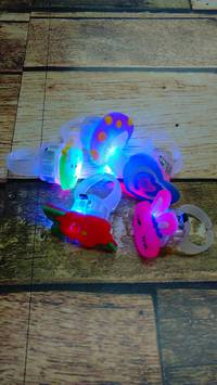 祭り用「光る指輪」入荷!!