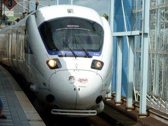 「がんばれ宮崎!」たまちゃん電車・885系