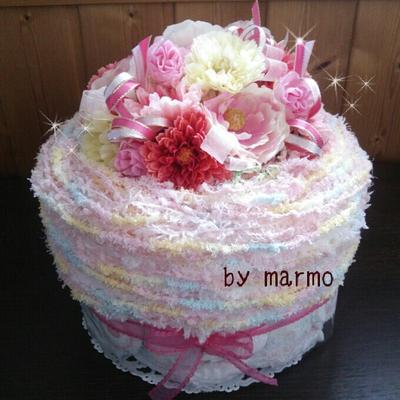 おむつケーキ♪Mサイズ