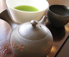 【茶葉の焙煎体験とお茶と美肌エトセトラ】