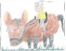 【キッズボンパク】みんなの絵日記~馬と遊ぼう~