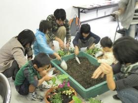 世界にひとつだけの寄せ植えを作ろう!