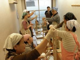 観音池ポーク・ソーセージと蕎麦粉クレープ作り体験1