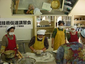 手打ち蕎麦作り体験