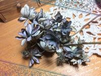 アンティーク色の紫陽花
