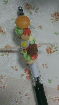 《デコ》もりもりハンバーガーボールペン&a・・・