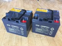 ポルカー(電動車いす)のバッテリー交換