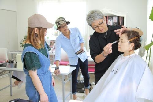 美容師メイク講習も後半戦へ♪