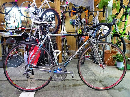 常連様のバイクご紹介~COLNAGO MASTER X-LIGHT DURA-ACE~