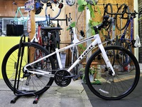 納車報告~2019 TREK FX3 DISC Crystal White~