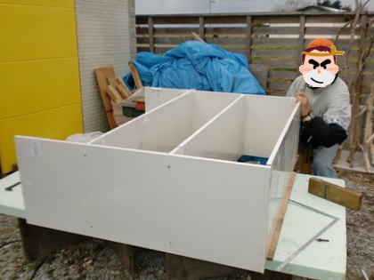 整理収納の為のオリジナル棚