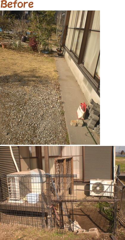 宮崎の町のリフォーム大工『かわきよ』ウッドデッキ