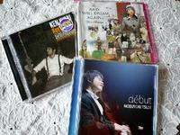 3枚のCD