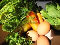 オーガニックな野菜と卵♪♪
