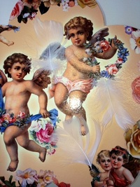 天使の羽づくし…(にわとり…?ですが…^^;)
