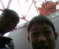 息子と東京見物