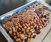 アイスボックスクッキーとワンちゃん用お芋・・・