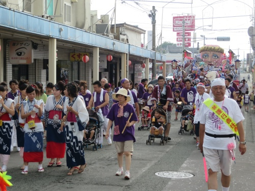 今年の三沢祭りは90周年だったそうな