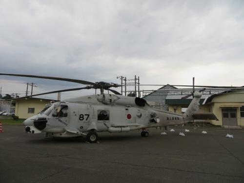 大湊マリンフェスタ2016でヘリと軍艦を見てきた