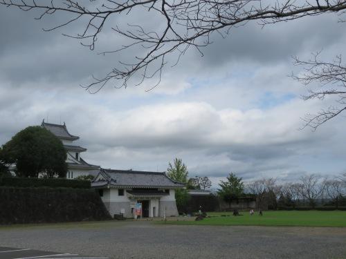 天ヶ城は桜がなくてもポケストップがある!