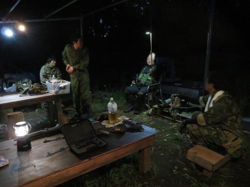 ヂゴンの巣、久しぶりの夜戦