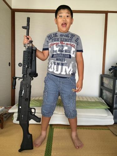 機関銃にはロマンがあるけど年寄りにはキツイw