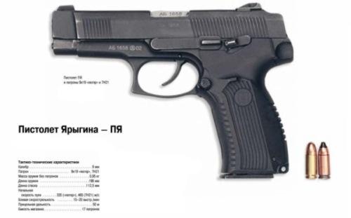 ロシア軍装備用ハンドガン?