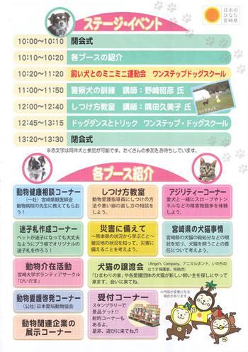 ★「みやざき動物フェスタ2016」出張譲渡会のお知らせ★