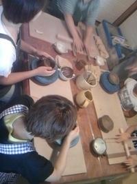 陶芸体験   午前の部