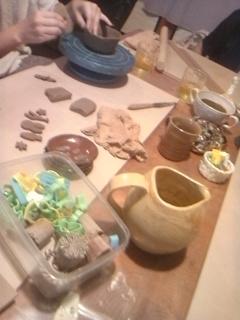 陶芸教室 午後の部