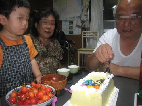 昨日は父上の誕生日でした