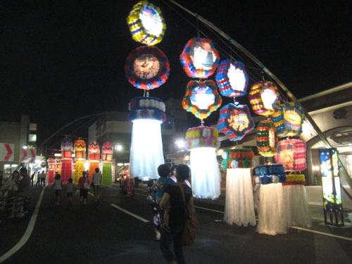 三沢の七夕祭り