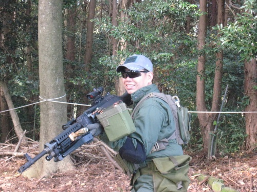ヂゴンの巣2009年の撃ち納め