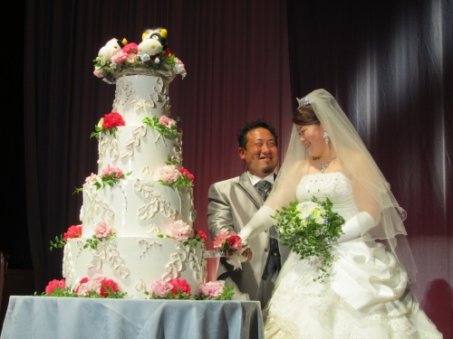義弟の結婚式