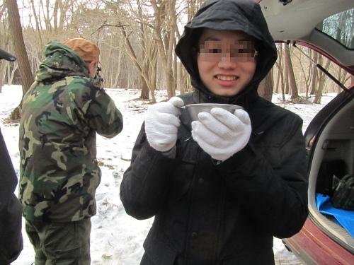 雪の中で戦争するのは止めましょう